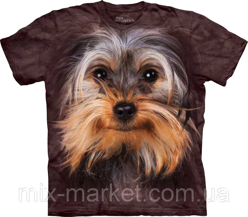 Футболка The Mountain - Yorkshire Terrier Face