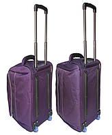 Комплект сумок на колесах (60+55 см) 2 в 1 CATESIGO фиолетовый