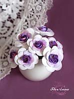 """Шпильки для волос """"Розы с цветовым переходом""""(1шт)), фото 1"""