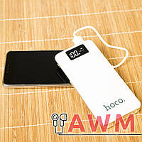 Внешний аккумулятор (Power Bank) HOCO B05 на 10000 mAh белый