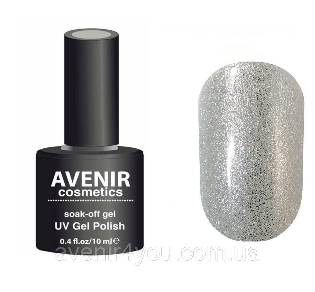 Гель-лак AVENIR Cosmetics №94. Серебро