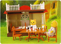 Игровой набор дом с терассой Happy Family (012-04)