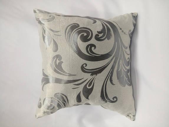 """Подушка """"Катрин"""" серебро, фото 2"""