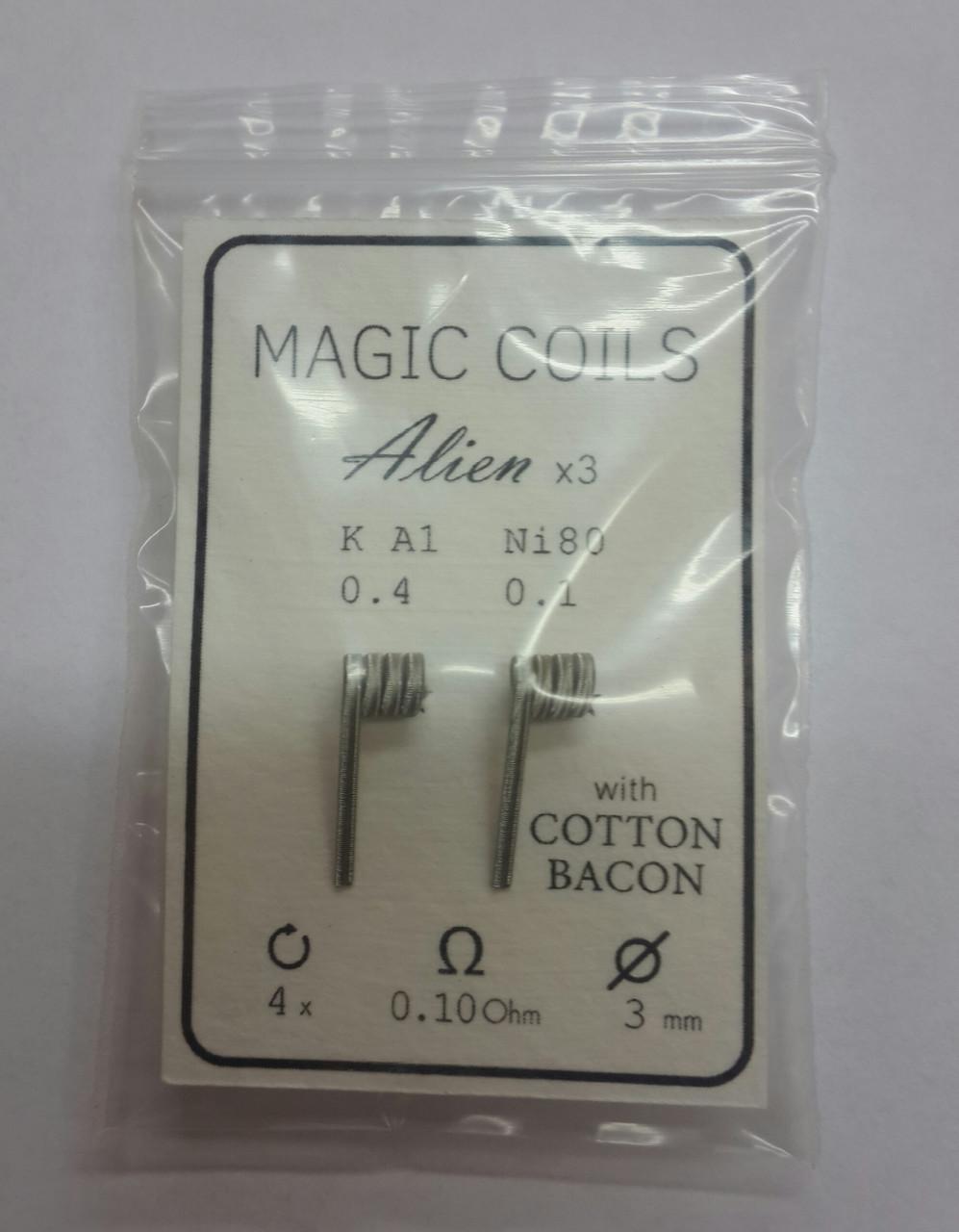 Готовые спирали - MAGIC COILS Alien 41