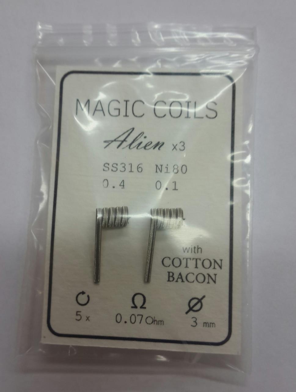 Готовые спирали - MAGIC COILS Alien 43