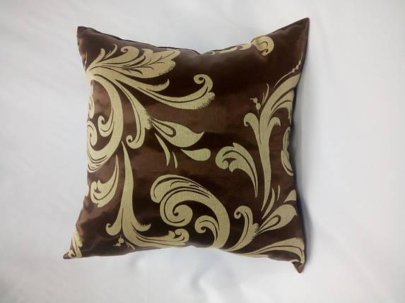 "Подушка ""Катрин"" коричневая, фото 2"