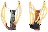 Компактная рогатка для рыбалки, спортивной стрельбы