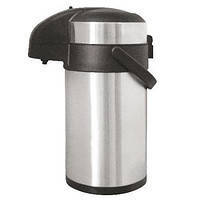 Термос с помпой WimpeX 5,0 литра (чай,кофе,кипяток)