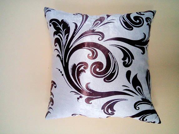 "Подушка ""Катрин"" беж+коричневый, фото 2"