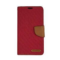 Чехол книжка Goospery Canvas Diary для Samsung A510 красный