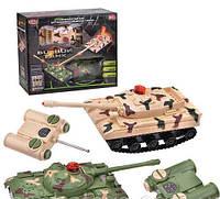 Танковый бой, 2 танка на радиоуправлении, танки 9672 коробка 22*27*8 см