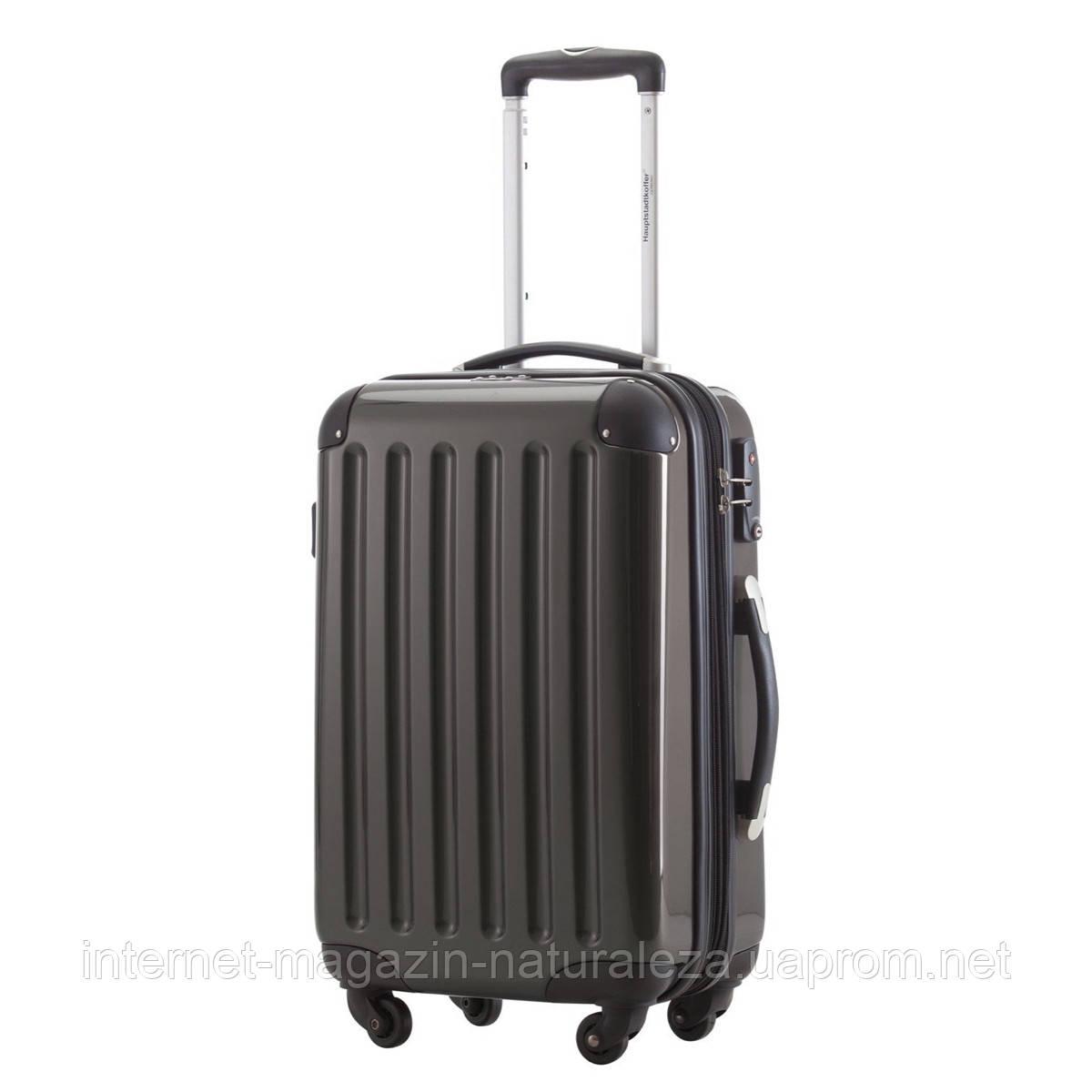 Дорожный чемодан Hauptstadtkoffer Alex Mini графитовый