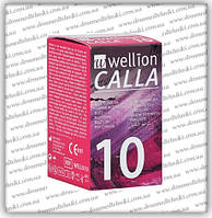 Тест-полоски Веллион Калла (Wellion Calla) 10 шт.