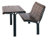 Комплект парковая скамейка и стол 700064