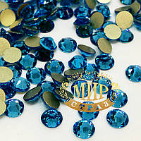 Камни Xirius Crystals, цвет Aquamarine ss16 (3,8-4,0 мм), 100шт