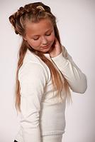 Свитер для девочек в молочном цвете, фото 1