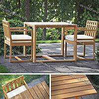 """Стол и стулья для террасы, мебель из дерева для сада или уличного кафе, новая коллекция """"Stylish OUTDOOR"""""""