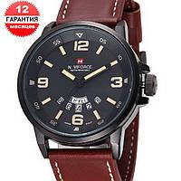 Кварцевые часы Naviforce (brown-black)