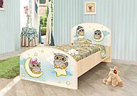 """Кровать детская """"Совы"""" (2 размера)"""