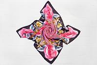 Цветочный модный платок