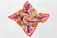 Милый платок с красивыми цветами