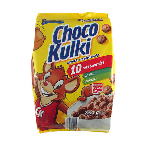 Шоколадные шарики Crownfield Choco Kulki 250 g, фото 2