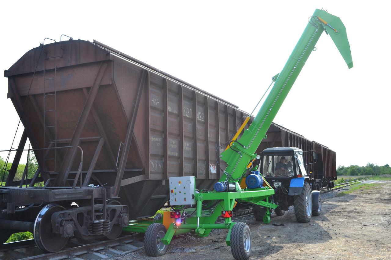 прицеп погрузчик зерна в вагон
