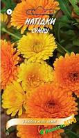 """Семена цветов Календула (Ногодки), смесь 0.25 г, """"Елітсортнасіння"""", Украина, серія """"З любов'ю"""""""