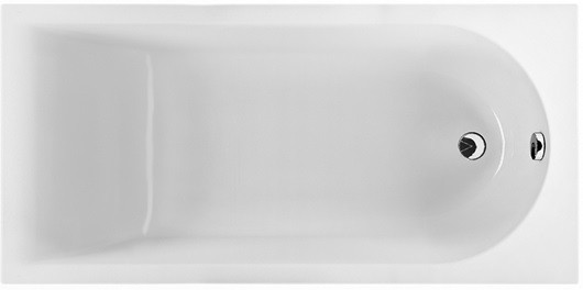 Ванна прямоугольная Kolo MIRRA 160*75 см, с ножками и элементами крепления - santehniks-kiev в Киеве