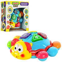Музыкальная обучающая игрушка Добрый Жук 0713 Joy Toy, Интерактивная игрушка Танцующий Жук 0713