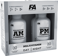 FA Nutrition Performance Multivitamin AM PM formula 180 caps