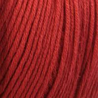 Пряжа Mondial Cotton Soft  Красный