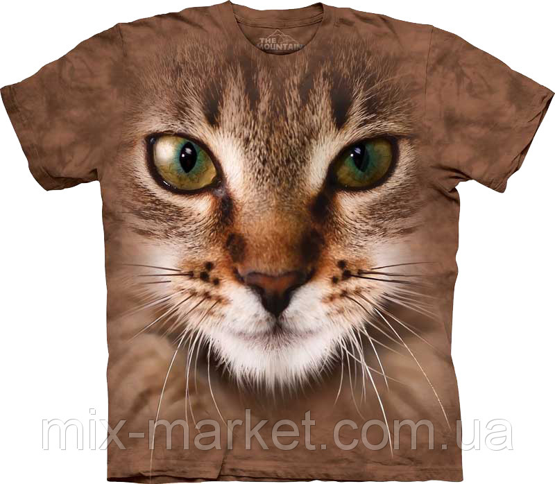 Футболка The Mountain - Striped Cat - 2012