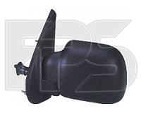Зеркало левое механическое без обогрева на Renault Kangoo,Рено Кенго 97-03
