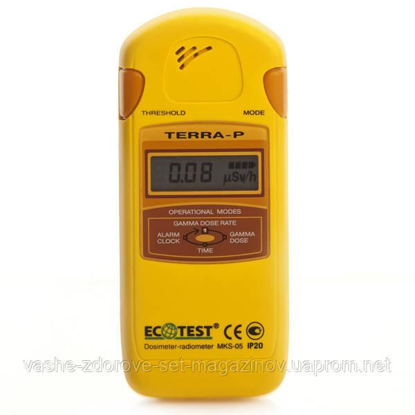 Дозиметр-радиометр бытовой МКС-05 ТЕРРА-П - Интернет-магазин медтехники и товаров для здоровья в Киеве
