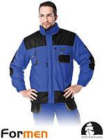 Куртка утепленная мужская рабочая голубая FORMEN Lebber&Hollman Польша (спецодежда зимняя) LH-FMNW-J BE3