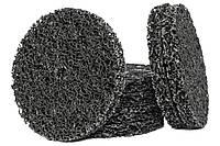Круг зачистной из нетканного абразивного материала без основы (черный) d 125x22