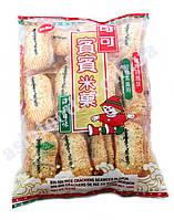 Крекер рисовый с МОРСКИМИ ВОДОРОСЛЯМИ Bin-bin 150 г (20 шт), фото 1
