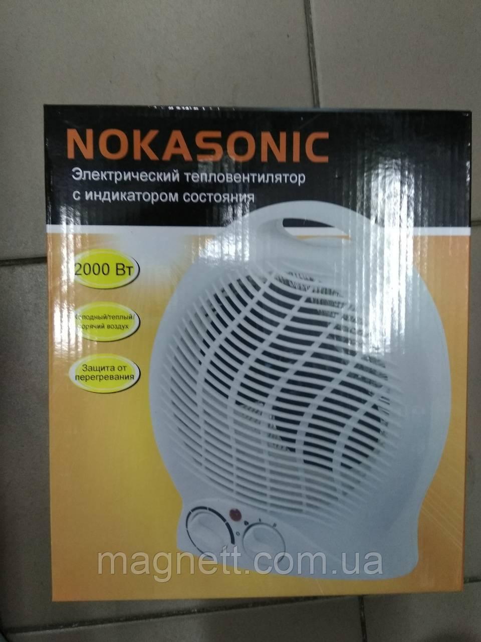 Тепловентилятор Nokasonic NC-200C Обогреватель