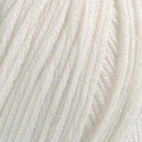 Пряжа Mondial Cotton Soft Белый