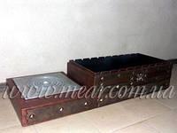 Мангал кованый «Гостевой» (с плитой) арт.man.41