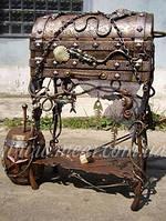 Мангал кованый  «Пиратский» арт.man.23