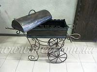 Мангал кованый «Подарочный» (с крышкой) арт.man.32