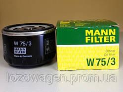 Фильтр маслянный MANN W75/3