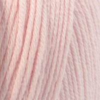 Пряжа Mondial Cotton Soft Розовый бледный