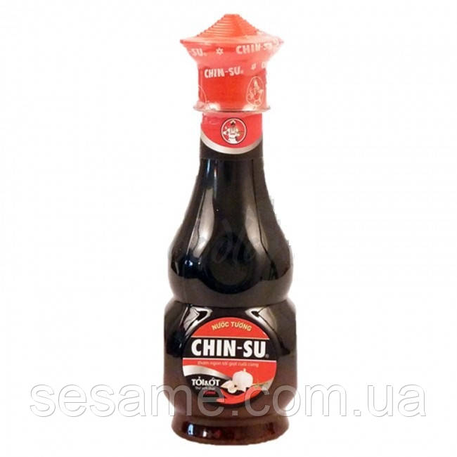 Соевый соус Chin-Su с чесноком и чили, 250мл (Вьетнам)