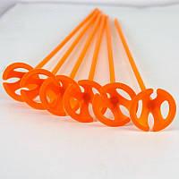 Палочка с держателем для шарика оранжевая 1302-3024