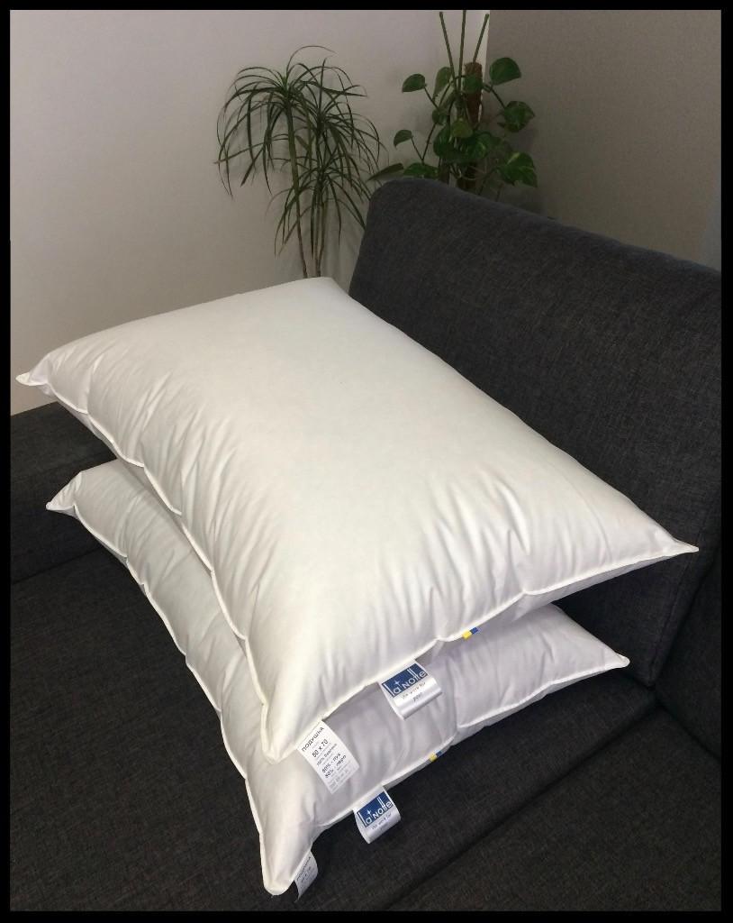 Подушка пуховая La Notte 70 х 50 см облегченная 90% гусиного пуха 10% пера с кантом