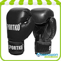 Боксерские перчатки Sportko арт.ПД1 12oz(унций)