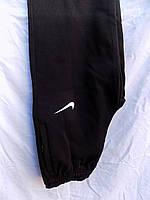 Мужские спортивные штаны на флисе прямые батал зима